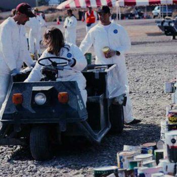 Photo of volunteers at HazWaste Days.