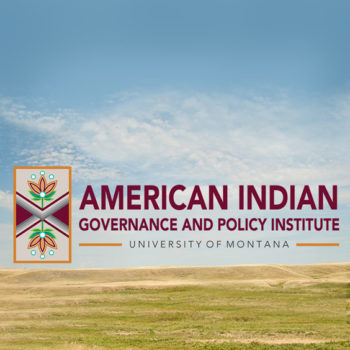 American Indian Governance and Policy Institute at the University of Montana logo