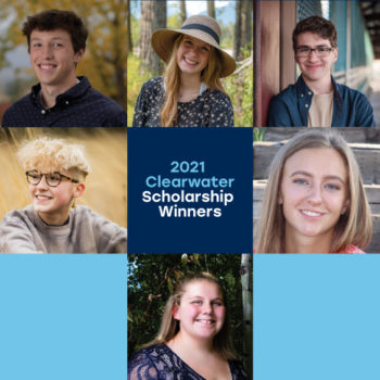 Photos of the 2021 Clearwater Scholarship winners.