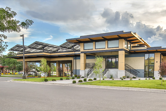 Photo of the Reserve St. Clearwater Credit Union branch located in Missoula, Montana